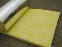 铝箔贴面玻璃棉卷毡直销